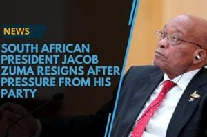 On February 14, Jacob Zuma announced his resignation as the President...