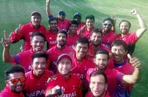 Nepal captain 'can't speak' after thrilling win to reach Cricket World...