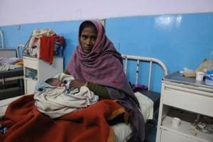 25-year-old Munni was allegedly denied admission by officials at the Civil Hospital in Gurgaon for failing to produce a copy for her Aadhaar card, even though she furnished her UID number. In labour, the woman delivered a baby girl outside the hospital's emergency ward on February 9.