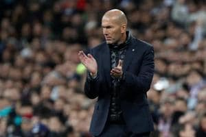 Zinedine Zidane expects Real Madrid to 'suffer' in Paris after...