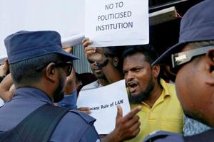 Maldives crisis: Minister rules out role for India, other countries;...