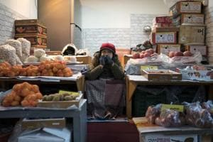 Photos: Pyeongchang street market offers a glimpse beyond Winter...