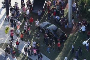 Photos: Ex-student goes on shooting spree at Florida high school...