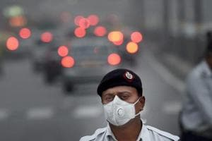 Pollution is a major problem in Delhi.