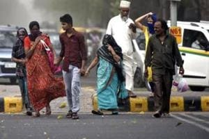 Western disturbances give Delhi another windy morning, air quality...