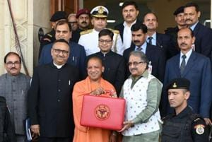 UP budget 2018-19: Finance minister presents Rs 4.28-lakh crore...