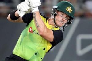 David Warner, D'Arcy Short powers Australia to record run chase vs New...