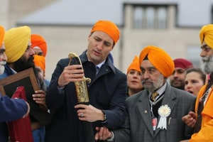UK Sikhs keenly watching Trudeau's India visit