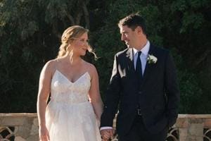 Amy Schumer gets married in sudden secret ceremony. See pics