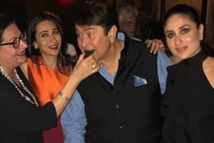 Kareena, Karisma and the entire Kapoor clan came together for Randhir...