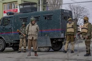 Encounter breaks out between security forces, militants in Kashmir's...