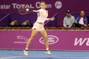Simona Halep too good for surprise quarter-finalist CiCI Bellis in...