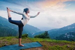 Opt for lighter workout routines like yoga if a gym session feels too much during periods.