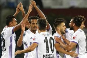 FC Pune City stopped Bengaluru FC from registering a record run of six...