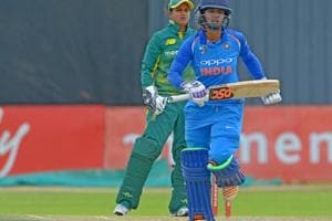 Mithali Raj and Smriti Mandhana both hit half-centuries spearheading a...