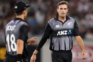 New Zealand look to secure T20 tri-series final berth against England...