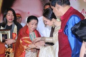 Asha Bhosle honoured with fifth Yash Chopra Memorial Award
