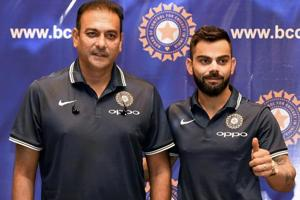 Ravi Shastri tells media to 'buy a dictionary' to describe Virat...