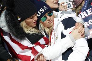 2018 Winter Olympics: USA's Lindsay Vonn slips to miss podium in...