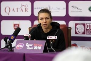 Injured Simona Halep withdraws from Qatar Open after win