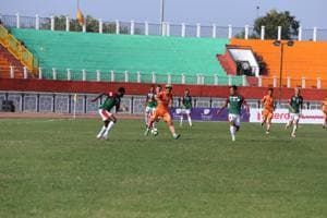 Mohun Bagan win 5-goal thriller to dent NerocaFC's I-League title...
