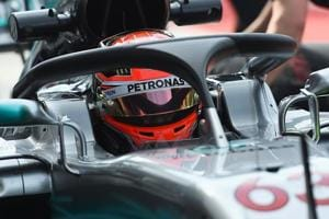 Mercedes F1 team's Valtteri Bottas unaffected by 'Halo' on simulation...