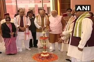 PM Modi inaugurates BJP headquarters in Delhi, says party committed to...