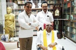 Kamal Haasan meets Karunanidhi, Rajinikanth; says he's calling on...