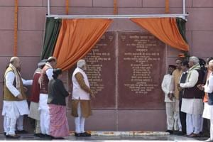 Photos: Prime Minister Narendra Modi inaugurates new BJP...