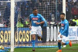 Napoli set club record with win against SPAL, stay top of Serie A
