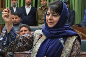 "Jammu and Kashmir Chief Minister Mehbooba Mufti said the situation across the borders in the state was not ""encouraging"" with ""deaths and destruction"" being reported so frequently."