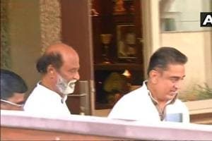 Kamal Haasan and Rajinikanth have a 'friendly meeting' days before...
