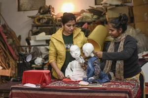 As puppeteers gather in Delhi, a rare chance for them to enjoy the...