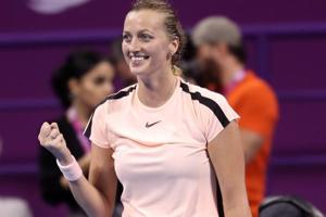 Petra Kvitova defeats World No. 1 Caroline Wozniacki to reach Qatar...