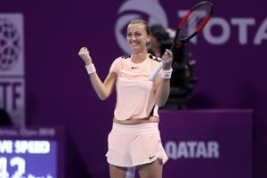 Petra Kvitova takes Qatar Open tennis title and heads back into top 10