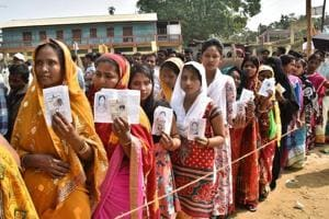 Polling peaceful in Tripura, 78.56% turnout recorded