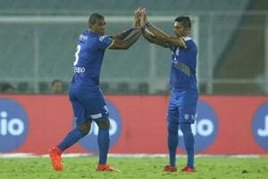 Mumbai City FC kept their playoffs hopes alive with a 2-1 win over...