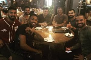 How Virat Kohli & Co celebrated their win over South Africa in...