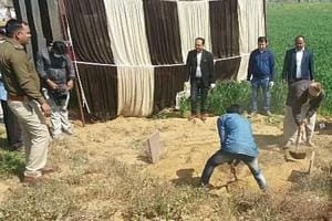Minor's body exhumed for autopsy in Bharatpur