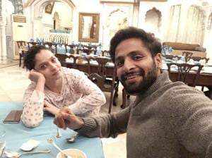 Vaibhav and Ankita bond over food and spirituality