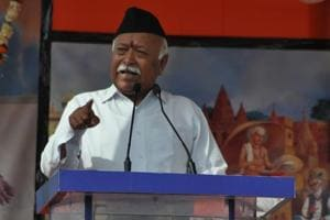 Mohan Bhagwat warns neighbours not to take India's love for peace as...