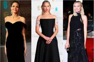 BAFTAs 2018: All the stars (except Kate Middleton) wear black to bring...