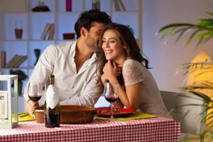 Choco lava cake was a favourite among lovebirds on Valentine's Day:...