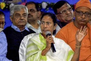 Ahead of elections, Mamata Banerjee's TMC takes right turn to counter...