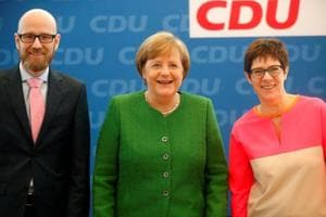 Angela Merkel picks ally for top party role, grooming potential...