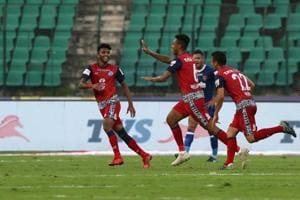 Chennaiyin FC and Jamshedpur FC played out a 1-1 draw in an Indian...