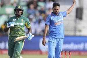 Bhuvneshwar Kumar's pace change shows South Africa's short-ball...