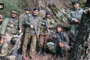 Security forces bust terror hideout in J-K, arms and ammunition...