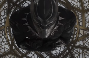 The revolution will not be televised: Chadwick Boseman in Marvel's Black Panther.