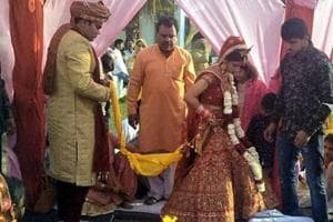 Communal harmony: Hindu, Muslim weddings in one pandal at the same...